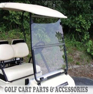 Club Car DS Clear Windshield '00.5 -UP  *New In Box* Golf Cart Folding Acrylic