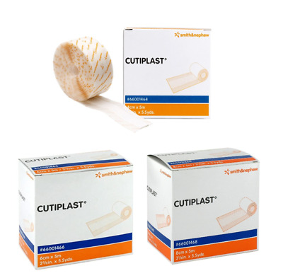 Cutiplast Wound Dressing Roll 5m | Painlessly Changed | Air & Moisture Permeable