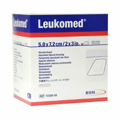 Leukomed Non-Woven Sterile Dressing |High Absorption | Air & Moisture Permeable