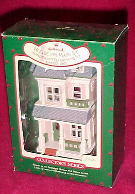 Hallmark Nostalgic Houses and Shops Christmas Ornaments on Main Street Collector