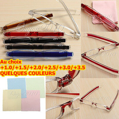 Gafas Lectura Reading Glasses Moda Diseno Plegable 1.00 to 4.00 Diopter Case Bag