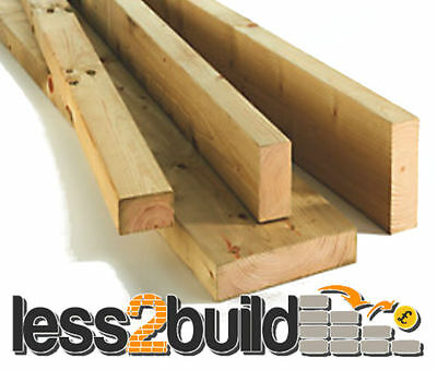 Treated C16 Timber 2x2(47x50mm) @ -Select Length-