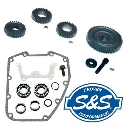 S&S Complete Gear Drive Install Cam Installation Support Kit for '99-'06 Harley