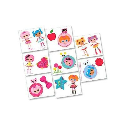 16 Lalaloopsy Childrens Birthday Party Loot Favor Tattoos