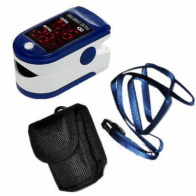 Contec Fingertip Pulse Oximeter - Blue