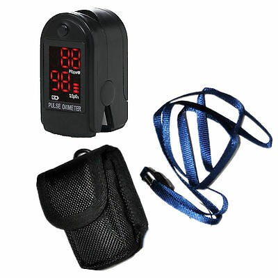 Contec Fingertip Pulse Oximeter - Black