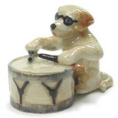 MB032 - NR Musician  -Lab wearing sunglasses &  playing a Drum  RETIRING SOON!