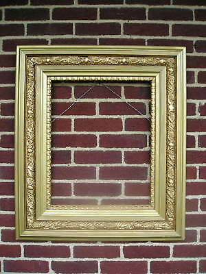 Amazing Antique Aesthetic Eastlake Victorian Ornate Edge Picture Frame 16 x 20