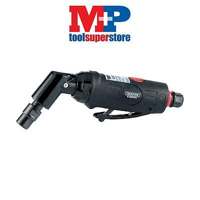 Draper 47564 Expert 6mm Compact Soft Grip Air Angle Die Grinder with 115° He