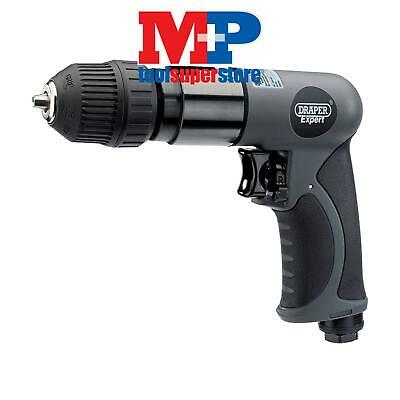 Draper 14258 Expert Composite Body Soft Grip Reversible Air Drill with 10mm Keyl