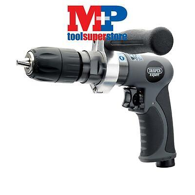 Draper 14266 Expert Composite Body Soft Grip Reversible Air Drill with 13mm Keyl