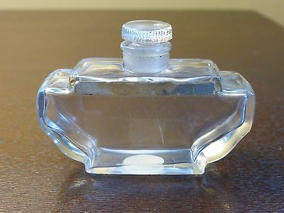 Vintage SHANGHAI LENTHERIC Collectible Perfume Bottle with Glass Stopper - Rare!