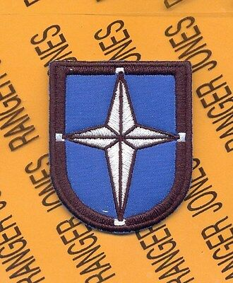 SOCEUR Spec Ops Cmd EUROPE Airborne beret Flash patch B