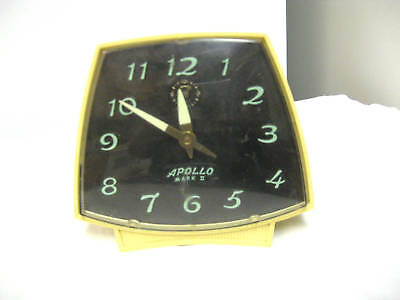 Older Robert Shaw Controls LUX Division Alarm Clock- Clock works; Alarm doesn't