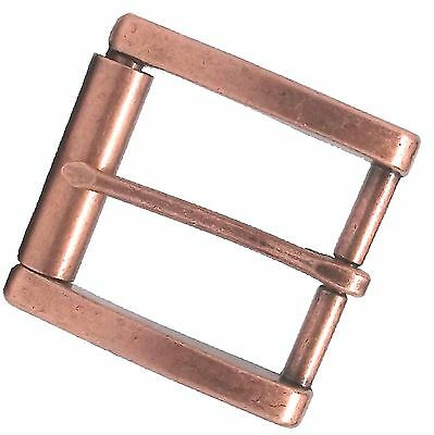 Monti Roller Bar Belt Buckle Antique Copper 1646-10 by Stecksstore