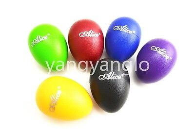 Alice Colourful Sound Eggs Shaker Maracas Percussion Free Shipping