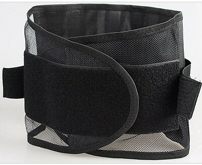 Lumbar Support Back Belt Waist Brace Shoulder Support Breathable Belt S - XXL