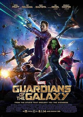 Movie Poster Print - Guardians of the Galaxy **DISCOUNTED OFFERS** A3 / A4