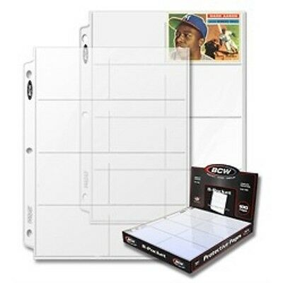{50} - 8 POCKETS PAGES COUPONS SLEEVES BINDERS HOLDERS ORGANIZERS - COUPONING