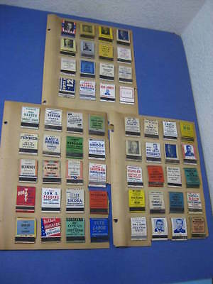 Lot of 56 Vtg 30s/40s Souvenir Political Advertisement Matchbooks