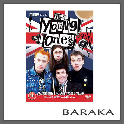 The Young Ones: Series 1 & 2 DVD Box Set Region 4 New & Sealed