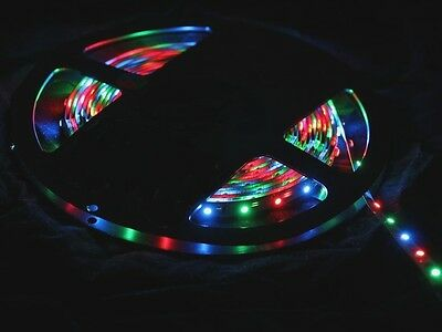 Boat Accent Light WaterProof LED Lighting Strip RV SMD 3528 300 LEDs 16 ft RED