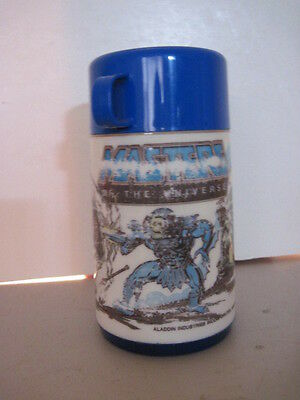 Masters Of The Universe Plastic Thermos! (1983) Vintage!