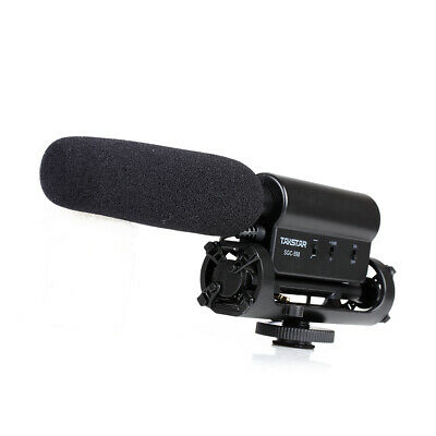 TAKSTAR SGC-598 Microphone Photography Interview MIC for Nikon Canon Camera DV