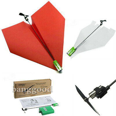 Electric Paper Airplane Conversion Kit Electric Power By PowerUp Aviones DIY