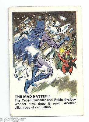 1966 Batman MacLeans Tooth Paste THE MAD HATTER 5