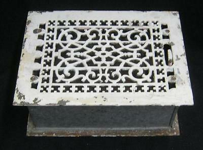 Vintage Through The Floor Register Ceiling Grille 3424-14