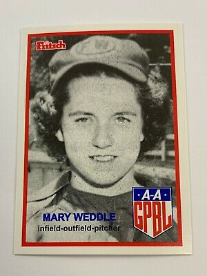 Fritsch AAGPBL Baseball Singles: #217 Mary Weddle