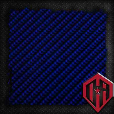 Hydrographic Water Transfer Hydrodipping Film Hydro Dip Blue Carbon Fiber Print
