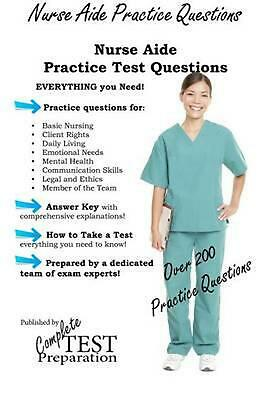 Nurse Aide Practice Questions by Complete Test Preparation Team (English) Paperb