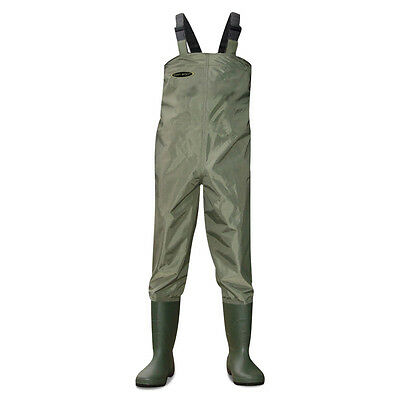Dirt Boot™ Nylon Chest Waders 100% Waterproof Fly Coarse Fishing Muck Wader