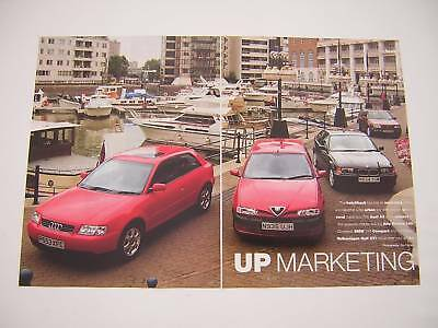 Audi A3 v Alfa Romeo 145 v BMW Compact v VW Golf GTi Road Test from 1996