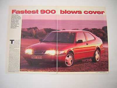Saab 900 SE Turbo Coupe Drive / Road Test from 1994