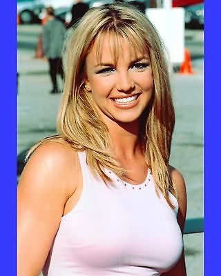 11454ad084429 Britney Spears Sexy Singer Model Musician Actress 8x10 Glossy Color Photo