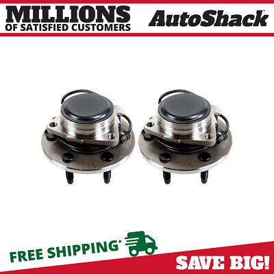 Front Hub Wheel Bearing Assembly Pair Set for Chevy GMC Pickup Truck 2WD Van