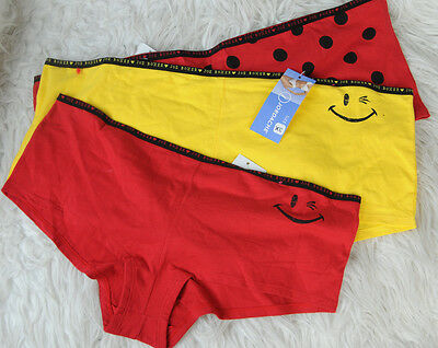 Joe Boxer Smiley face Red or Yellow or Polka dot XL 3XL boy shorts panties