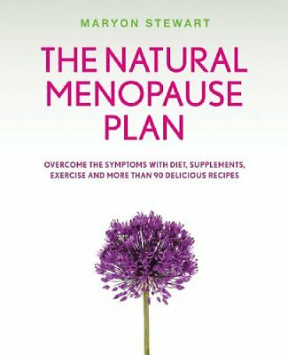 The Natural Menopause Plan by Maryon Stewart Paperback Book The Cheap Fast Free
