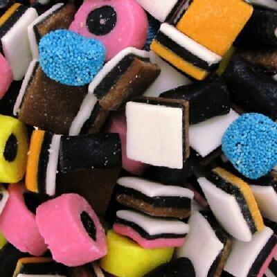 Kingsway Liquorice Allsorts Retro Pick Mix Sweets Choose Weight 100g - 3kg Bags