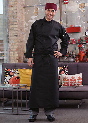 Uncommon Threads 4-way apron, black or white, one size fits all, 3057L