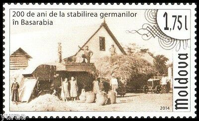 Moldova - 2014 - 200 Years of German Settlements in Bessarabia, 1v