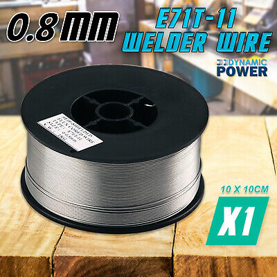 0.8mm x 1kg Gasless Mig Welding Wire E71T-11 Flux Cored Welder Machine