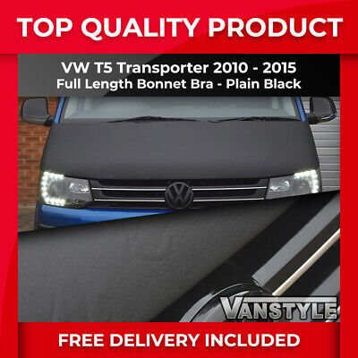 Vw Transporter T5 Bonnet Bra 2010-15 Top Quality/fit Protector Cover Stone Guard