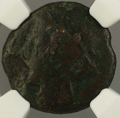275-215 BC Syracuse in Sicily 19MM Ancient Coin Hieron II NGC VG MSK