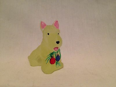 Boyd Scottie Dog Duke Handpainted Christmas-2003