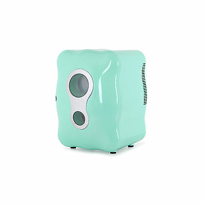 minizzang Portable Refrigerator MINI-8L Fridge 8L Cosmetics Cooler/Warmer -Mint