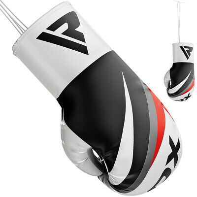RDX Ladies Boxing Gloves Punch Bag Mitts Women's Double End Speed ball Muay Thai
